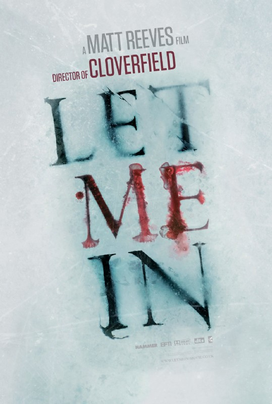 Let Me In Movie Poster #1
