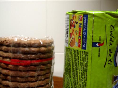 abre facil paquete galletas