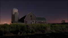 Barn and Stars (Calvin J.) Tags: old ontario canada night barn stars long exposure farm landsape nikond90 nikkor1424mmf28gifedafs
