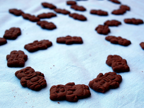 Bamsekiks - Teddy Bear Biscuits