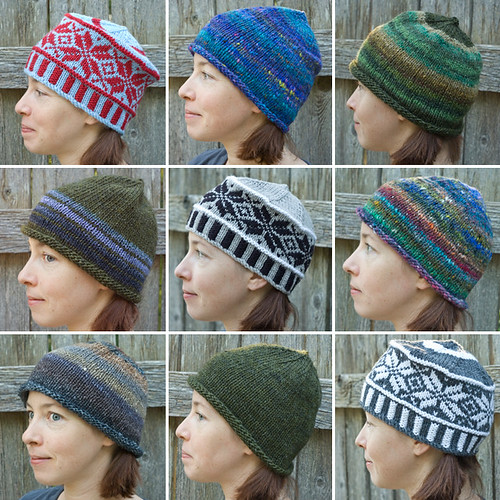 Selection of Handknit Hats