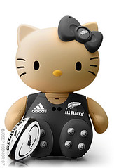 Hello Kitty All Black