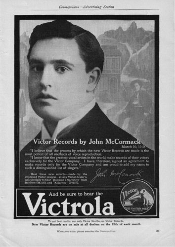 John McCormack and Victrola recordings