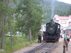 1880s train engine, south dakota, black hills