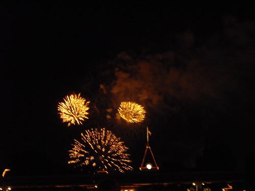 fireworks @ disneyland