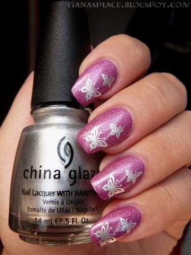 Pink butterflys #2