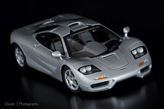 McLaren F1 road car - AUTOart Signature 1/18 (David.T Photography) Tags: road car canon silver 350d miniature ultimate signature tail f1 replica exotic mclaren gordon short bmw legend murray supercar myth 118 v12 roadcar mythical highend diecast magnesium shorttail autoart 55250