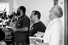 Romania-28.jpg (Marty McAlpine) Tags: travel people blackandwhite playing church monochrome kids canon children parents europe driving singing gig jazz adobe romania instruments adults gypsy easterneurope lightroom lr3 gypsychurch secondshow 5dmarkii harmsband