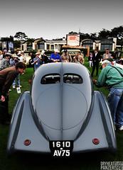 Bugatti (DryHeatPanzer) Tags: beach atlantic pebble type teardrop concours bugatti 2010 1937 atlantique delegance 57s