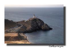 IMG_0750_Faro del Cabo de Gata_Almería (carlosviajero89) Tags: travel viaje españa costa canon faro spain mediterraneo andalucia almeria 2010 parquenatural mywinners colorphotoaward cabodegatanijar carlosviajero89 carlospla carlosviajero carlosviajeropla