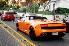 Lamborghini Gallardo LP560-4 Spyder (Ed Cunha Ph) Tags: auto orange cars car brasil automotive spyder exotic curitiba carros lamborghini coches cwb gallardo ctba batel lp5604