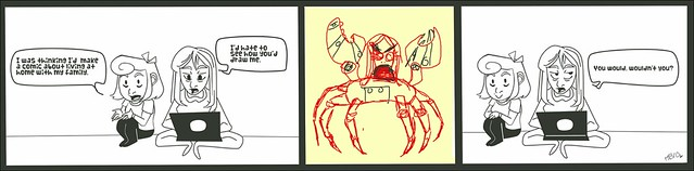 Taller_Children__RoboCrabMom_by_BadLittleMonster