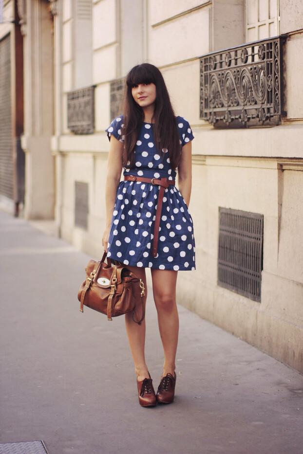polka dots dress 01