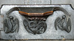 Pelican misericord medieval woodwork