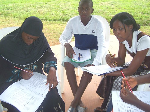 Discussion group 2 - teenagers at HIVAIDS conference by twrafrica@yahoo.com