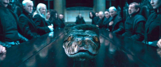 Horrocrux serpiente Nagini
