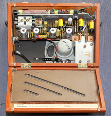 "Ever Ready ""Sky Leader"" - Innards (Amateur Radio Station G4FUI) Tags: radio battery 1950s 1960s transistor everready pp9 skyleader"