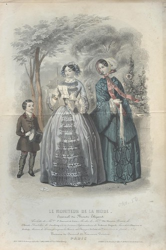 October 1850 - Victorian women and a boy