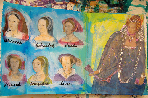 Tudor Girls - in progress