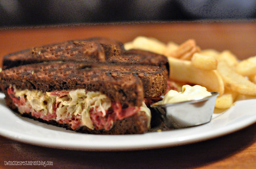 Corned Beef Brisket Melt at Manitou Station ~ White Bear Lake, MN