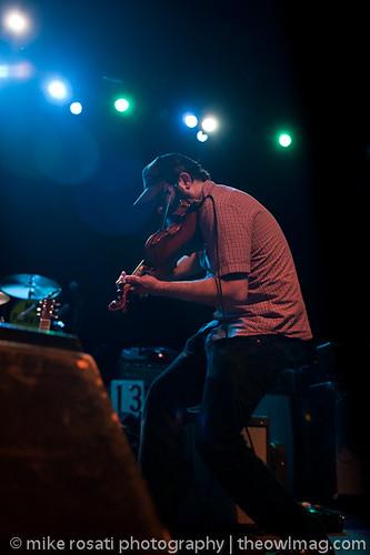 Jon Gaunt on fiddle