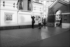 DR151004_0331D (dmitryzhkov) Tags: two day daylight woman women lady sony alpha black blackandwhite bw monochrome white bnw blacknwhite bnwstreet art city europe russia moscow documentary journalism street streets urban candid life streetlife citylife outdoor outdoors streetscene close scene streetshot image streetphotography candidphotography streetphoto candidphotos streetphotos moment light shadow people citizen resident inhabitant person portrait streetportrait candidportrait unposed public face faces look looks church monastery parishioner shawl fence gate door converse conversation sunday sunglasses sunlight shadows sunshine morning