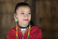 Tribal Beauty (wu di 3) Tags: thailand karen tribe bigearring girl portrait asia southeastasia