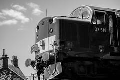 From Wareham To Swanage (Ben_Broomfield) Tags: class 37 37518 wareham mainline diesel swanagerailway swanage