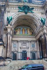 Berliner Dom entrance mosaic (Andy Hay) Tags: 2017 berlin berlinerdom cathedral germany lightroom lustgarten mosaic museumisland museuminsel de
