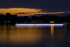 Lake Light Trails (RiverBum - MN) Tags: turtlelake nikkor135mmf35 4thofjuly 4thofjulyweekend nikkor135mm nikkor nikon lighttrail lighttrails lake lakelife