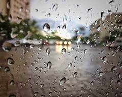 Rainy days (Mister Blur) Tags: rainy day flicker lights rain drops bokeh blur depthoffield mérida yucatán méxico días lluvia iphone se iphoneography