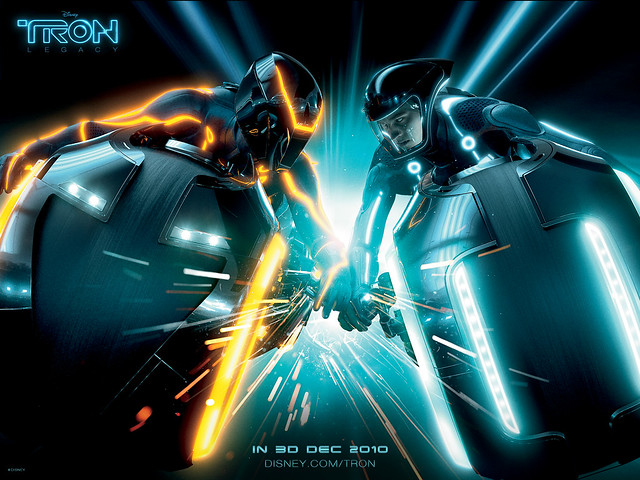 Tron Legacy Light Cycle Smash