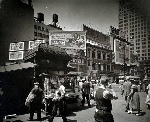 14th st and broadway 1936