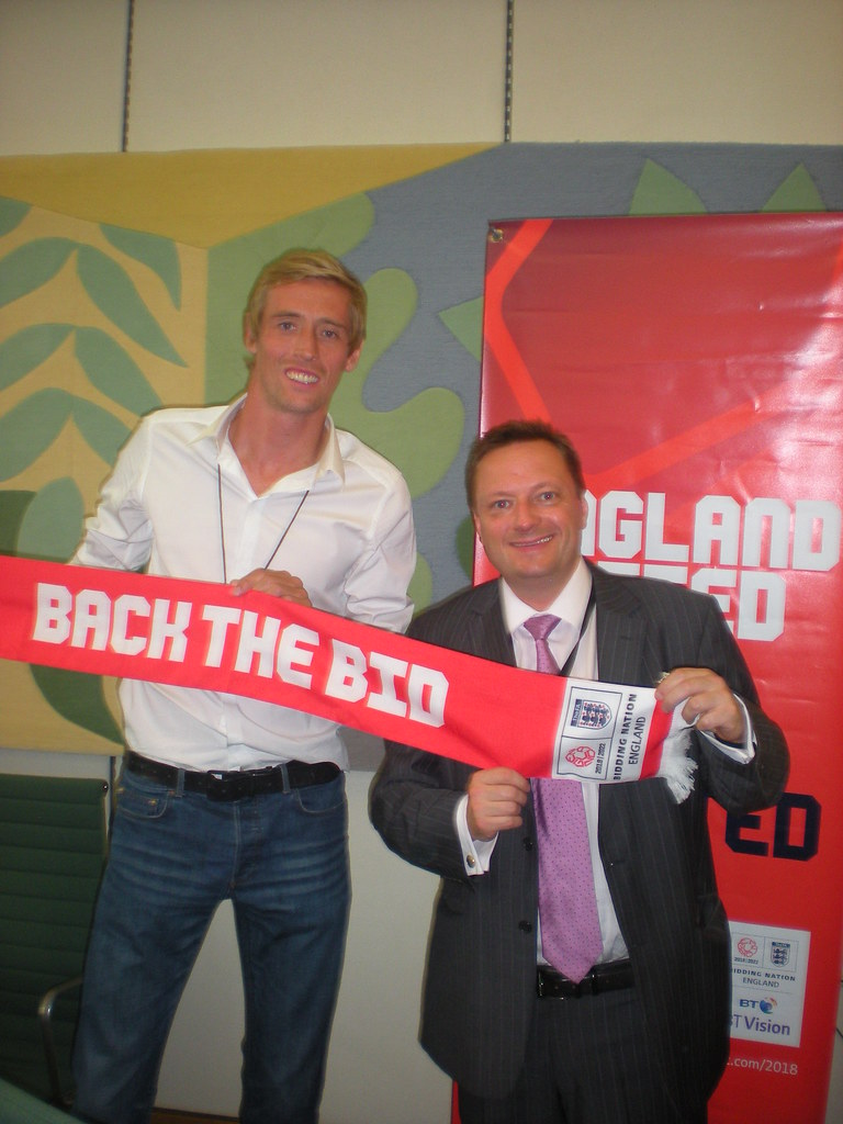 Meeting Peter Crouch