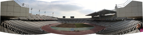 Barcelona Olympic Stadium Stitch