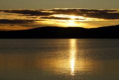 Midnight Sun, Lake Inari, Finland (7) (tmv_media) Tags: pictures sun lake refle
