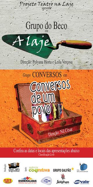 Projeto Teatro na Laje - 31/07