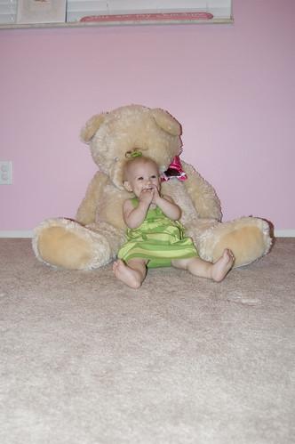 Ella & bear @ 1
