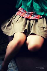 The hidden charm... (Hoang Viet) Tags: people woman girl lady female person women friend vietnamese dress legs leg charm buddy vietnam hidden viet gal hide honey short mate dear saigon hochiminhcity hcmc hanoian