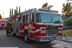 SJS Engine 13 (YFD) Tags: canon fire action 911 sanjose firetruck fireengine ferrara sjfd emergency ems firedepartment spartan gladiator pumper structurefire eos7d