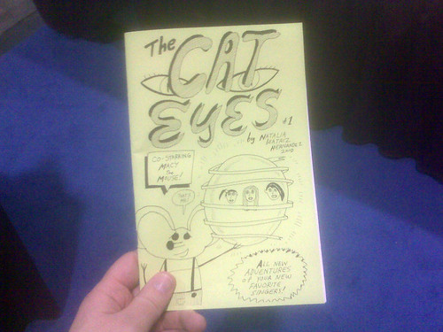 The Cat Eyes #1 by Natalia Hernandez - Fantagraphics at Comic-Con 2010