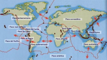 Resultado de imagem para terremotos placas tectonicas