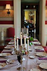 Sala de jantar - Chateau de la Bourdaisiere