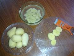 Khoai tây chiên giòn 1