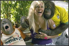 Proof (twm1340) Tags: woman funny evolution email ape monkeyseemonkeydo grope notmyphoto
