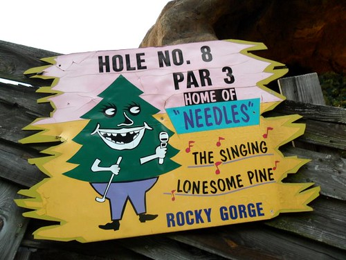 """Needles""  The singing lonesome pine"