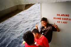 No Fishing dudesies (sharkwhistle) Tags: indonesia jawa olympusxa banyuwangi