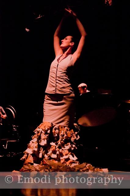 Con aires flamencos