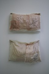 (Lizzie Staley) Tags: drawing embroidery sewing pins pillows patchwork slavery graphite sextrafficking trafficked