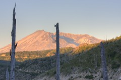 Mt St Helens @ sunrise